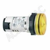 Желтая лампа со встроенным светодиодом 220В AC Schneider Electric, XB7EV05MP