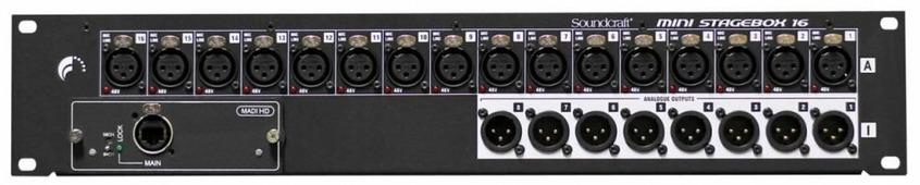 Soundcraft MSB-16i Сценический блок ввода-вывода