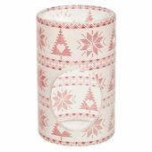 Аромалампа Стеклянная аромалампа Yankee Candle Red Nordic Frosted Glass Diffusor