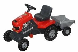 Полесье Педальная каталка-трактор Turbo с полуприцепом