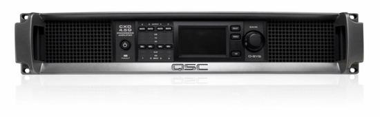 QSC CXD4.5-Q - 4-канальный усилитель с DSP обработкой, 4x1150Вт/8Ом, 2х2250Вт/8Ом, 1х 4200Вт/8Ом