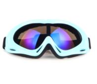 Горнолыжная маска №8 голубая