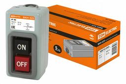 TDM ВКН-316 выкл. кнопочный с блокировкой 3Р 16А 230/400В IP40 SQ0716-0002