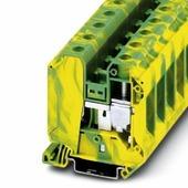 UT 35-PE Клеммник на DIN-рейку 35мм.кв. (жёлто-зелёный) Phoenix Contact, 3044241