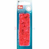 Кнопки Color Snaps пластик 30 шт красный Prym 393138