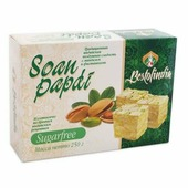 Индийские сладости Bestofindia Soan Papdi SUGARFREE (Воздушные индийские сладости Без Сахара Соан Папди Бестофиндия), 250 гр.