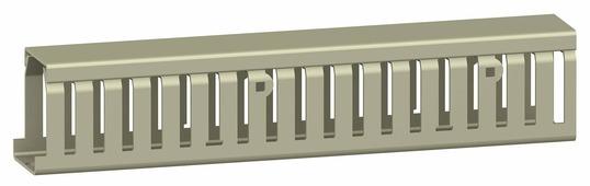 Кабель-канал серый в75мм х ш125мм длинна 2000мм Schneider Electric, AK2GD12575