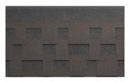 Гибкая битумная черепица Kerabit L+ Коричнево-черный