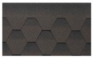 Гибкая битумная черепица Kerabit K+ Коричнево-черный