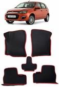 Lada Kalina вариант макси 3d 2004 - коврики EVA Smart Коврик в багажник седан