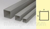 Труба алюминиевая квадратная 20х20 300 см
