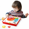 Мозаика BeeZee Toys Весёлые Шестеренки пазл креативный