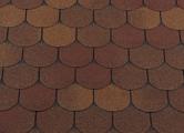 Гибкая битумная черепица RoofShield Готик Family Fl-G-29 Осенний