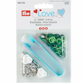 """Кнопки """"Джерси Color"""" латунь 8 мм 21 шт разноцветные Prym Love 390703"""
