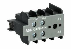 Контакторы силовые CAF6-11-E Контакт фронтальный 1Н3+1НО для B(C)6-, B(C)7-40-00, VB(C)...(A) ABB