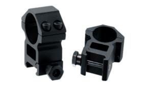 Кольца Leapers Accushot 25,4 мм на Weaver, STM, высокие (H),