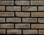 Декоративный искусственный камень РокСтоун Кирпич старинный угловой, 307у, Коричневый