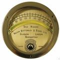 Maritim Кренометр судовой из полированной латуни 32068 110 мм