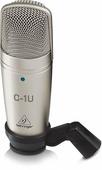 Behringer C-1U микрофон студийный конденсаторный кардиоидный с USB выходом