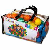 Пластиковые шары 6,5 см, intex 49602 100 шт для игровых центров
