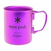 Кружка Snow Peak титановая Titanium Double 450 фиолетовый 0.45Л