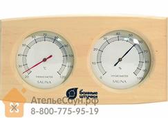 Термогигрометр Банная станция (24.5х13.5х3 см, арт. БШ 18024)