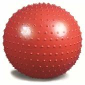 Мяч гимнастический (игольчатая поверхность) красный Ортосила L 0565 b, диаметр 65 см (65см.)