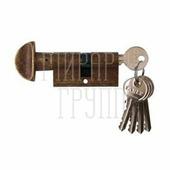 Venezia цилиндр 60 мм/25+10+25 ключ-вертушка античная бронза