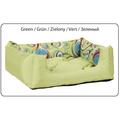 Лежак с подушкой AMI Play Crazy зеленый, L, 55x40x19см