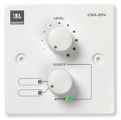 JBL CSR-2SV-WHT Настенный контроллер, 2-позиционный селектор источника и управление громкостью. Цвет белый.