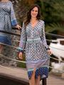 Электронная выкройка Burda - Платье с втачным поясом №116 A