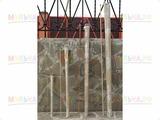 Колья для подвязки, h 230 см (5 шт/уп), полимерные - стеклопластик