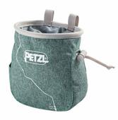 Мешок для магнезии Petzl Saka зеленый
