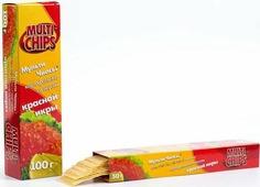 Чипсы Multichips со вкусом красной икры, 100 г