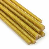 Термоклей 7мм, золотой