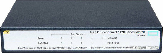 Коммутатор HP OfficeConnect 1420 5G POE+ Switch [JH328A]