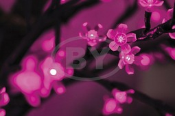 "Светодиодное дерево Neon-night ""Сакура"" фиолетовый 2.4 м, Ø 2 м"