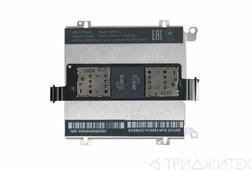 Межплатный шлейф (основной) с разъемом SIM и рамкой креплпения аккумулятора для Asus ZenFone 4 A450CG
