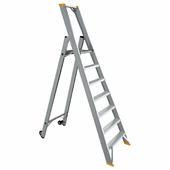 Лестница-стремянка алюминиевая односторонняя 190 см 14,0 кг iTOSS Eurostyl (9309)
