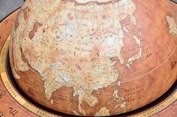 Глобус-бар MICHELANGELO (Микеланджело) напольный со столиком, d=40 см ZOFFOLI