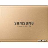 Samsung T5 500GB (розовое золото)