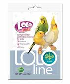 Lolo Pets Lololine Ракушки и кальций для птиц, минеральная кормовая смесь, 50гр