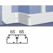 Профиль кабель-канал 50x150 - 2 секции - 2 крышки 65 мм - длина 2 метра. Цвет Белый. Legrand DLP (Легранд ДЛП). 010427