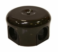 Распаячная коробка малая D78 коричневый 33012 Lindas