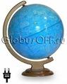 Глобус диаметр 32 смсм Звездного неба с подсветкой Глобусный мир 10066