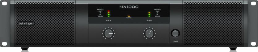 Усилитель мощности behringer nx1000