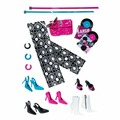 Комплект обуви и аксессуаров Barbie Basics Accessories Look No. 03—Collection 001 (Набор №3 из Коллекции №1 для кукол Барби)