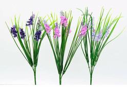 """Цветок искусственный """"Лаванда с травой букет"""" микс расцветок арт. BU03290"""