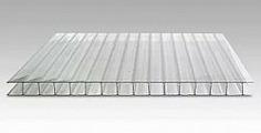 Поликарбонат сотовый Berolux Прозрачный 10мм