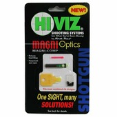 Универсальная оптоволоконная мушка Hiviz «Magni-Comp», зелёный/красный